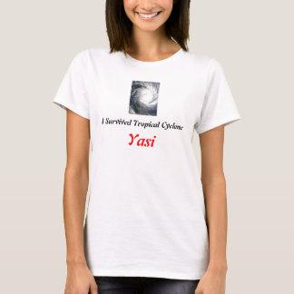 T-shirt J'ai survécu au cyclone Yasi
