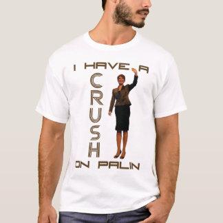 T-shirt J'ai un écrasement sur Palin