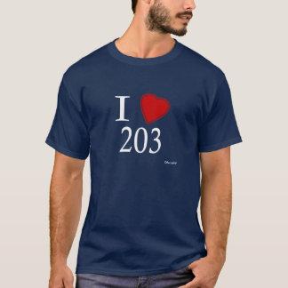 T-shirt J'aime 203 Bridgeport