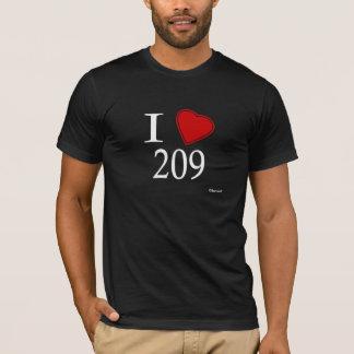 T-shirt J'aime 209 Modesto