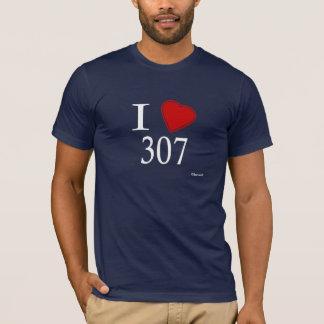 T-shirt J'aime 307 Cheyenne