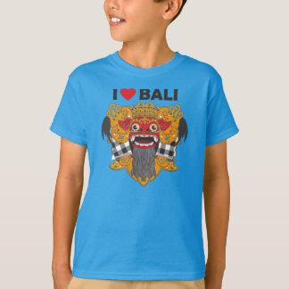 T-shirt J'aime Bali avec l'art de Barong