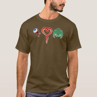 T-shirt J'aime Cthulhu