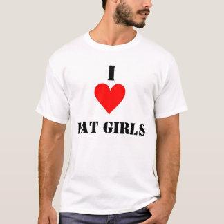 T-shirt J'aime de grosses filles