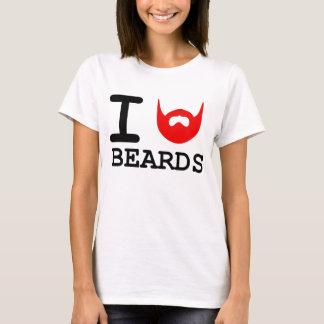 T-shirt J'aime des barbes