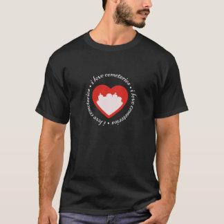 T-shirt J'aime des cimetières
