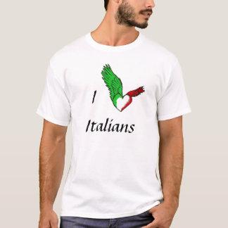 T-shirt J'aime des Italiens