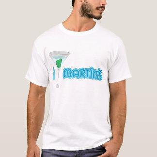 T-shirt J'aime des martini