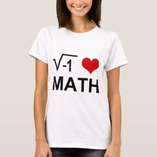T-shirt J'aime des MATHS !