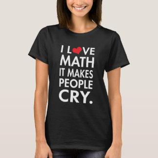 T-shirt J'aime des maths, il incite des personnes à