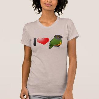 T-shirt J'aime des perroquets du Sénégal