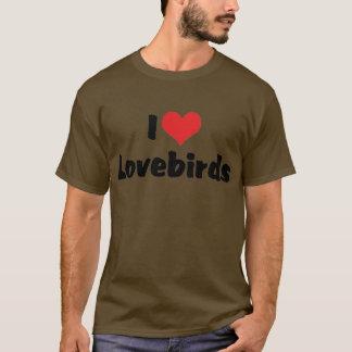 T-shirt J'aime des perruches de coeur