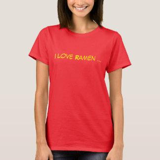 T-shirt J'aime des Ramen