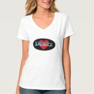 T-shirt J'aime des requins