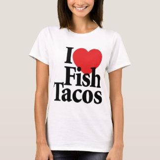 T-shirt J'aime des tacos de poissons