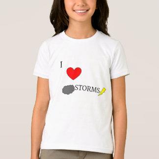 T-shirt J'aime des tempêtes