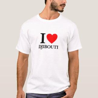 T-shirt J'aime Djibouti