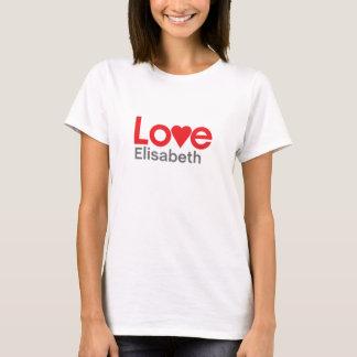 T-shirt J'aime Elisabeth
