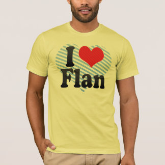 T-shirt J'aime Flan
