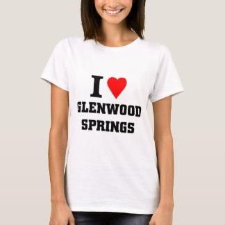 T-shirt J'aime Glenwood Springs