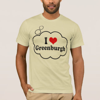 T-shirt J'aime Greenburgh, Etats-Unis