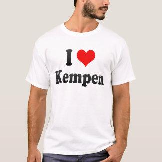 T-shirt J'aime Kempen, Allemagne. Ich Liebe Kempen,