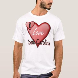 T-shirt J'aime la Caroline du Nord