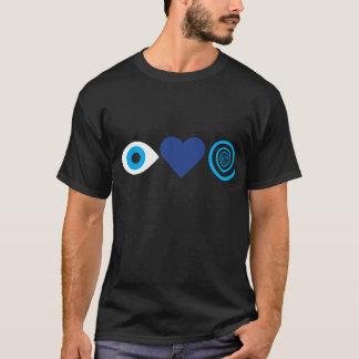T-shirt J'aime la chemise d'hypnose