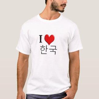 T-shirt J'aime la Corée