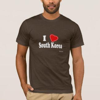 T-shirt J'aime la Corée du Sud