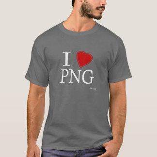 T-shirt J'aime la Papouasie-Nouvelle-Guinée