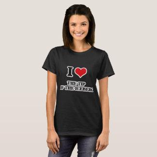 T-shirt J'aime la partie émergée de l'iceberg