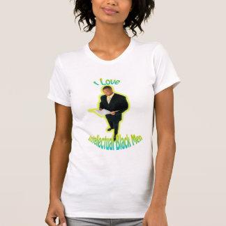 T-shirt J'aime la pièce en t intellectuelle d'hommes de