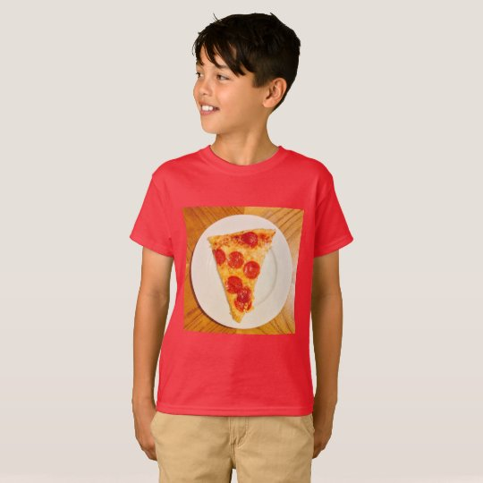 T-shirt J'aime la pizza ! 4Ronny