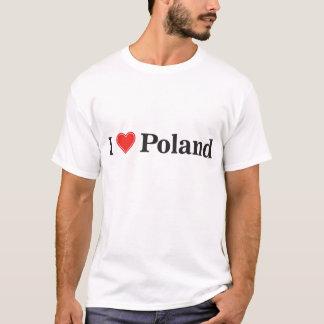 T-shirt J'aime la Pologne