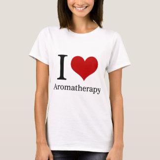 T-shirt J'aime l'aromathérapie