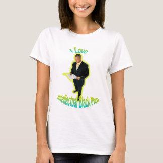 T-shirt J'aime le blanc intellectuel de pièce en t