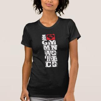 T-shirt J'aime le chasseur de gymnastique personnalisé