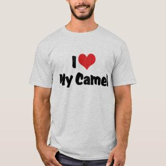 T-shirt J'aime le coeur mon chameau