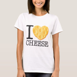 T-shirt J'aime le fromage