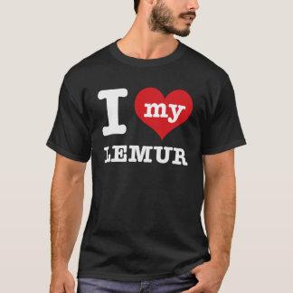 T-shirt J'aime le lémur