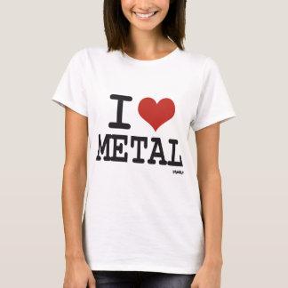 T-shirt J'aime le métal