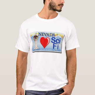T-shirt J'aime le SciFi