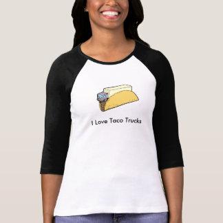 T-shirt J'aime le tee - shirt de camions de taco