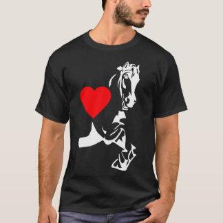 T-shirt j'aime les chevaux