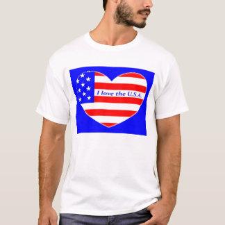 T-shirt J'aime les Etats-Unis