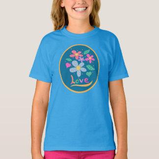 T-shirt J'aime les fleurs