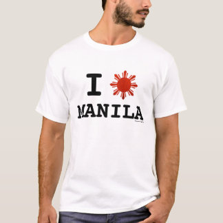 T-shirt J'aime Manille Philippines