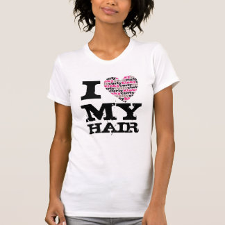 T-shirt J'aime MES cheveux - kinkycurlyheart