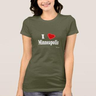 T-shirt J'aime Minneapolis